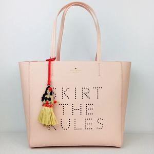 NEW Kate Spade Skirt The Rules Hallie Tote Handbag